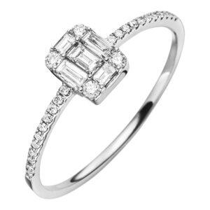 Verlobungsringe - Mehrsteinig - Verlobungsringe 1O398R854-1
