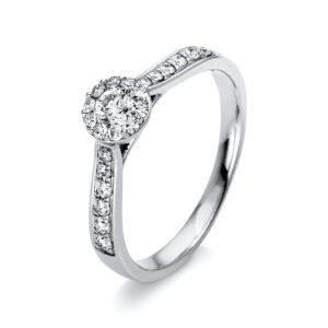 Verlobungsringe - Mehrsteinig - Verlobungsringe 1N349W