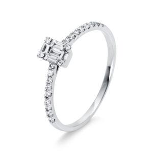 Verlobungsringe - Mehrsteinig - Verlobungsringe 1P458W