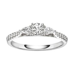 Verlobungsringe - Mehrsteinig - Verlobungsringe 1E625W