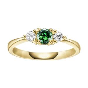 Verlobungsringe - Mehrsteinig - Verlobungsringe RV888023-GG