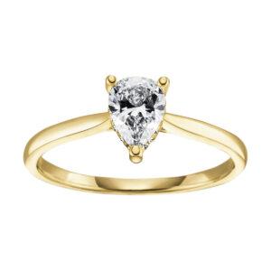 Verlobungsringe - Mehrsteinig - Verlobungsringe 1R701W-GG