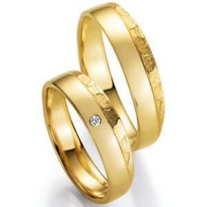 Trauringe - Besonderheiten - Trauringe 66/50070-040 Gelbgold Gold