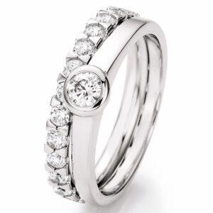Verlobungsringe - Besonderheiten - Verlobungsringe 70/30250+50/40055-WG