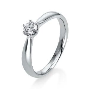 Ring 6er-Krappe 18 kt WG, GIA1335647724