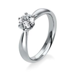 Ring 6er-Krappe 18 kt WG, GIA5326938332